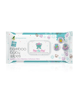 Bamboo Wet Wipes With Honeysuckle Extract (80 Pieces)