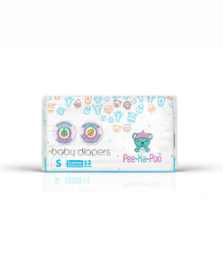 Taped Diapers Sleeper S 3kg - 8kg (12 Pieces)