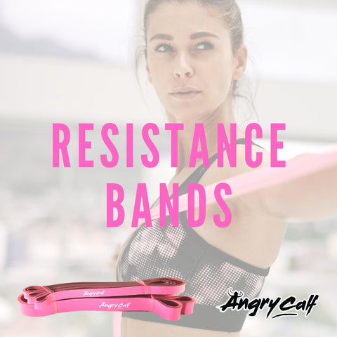 Angry Calf Resistance Training Bands