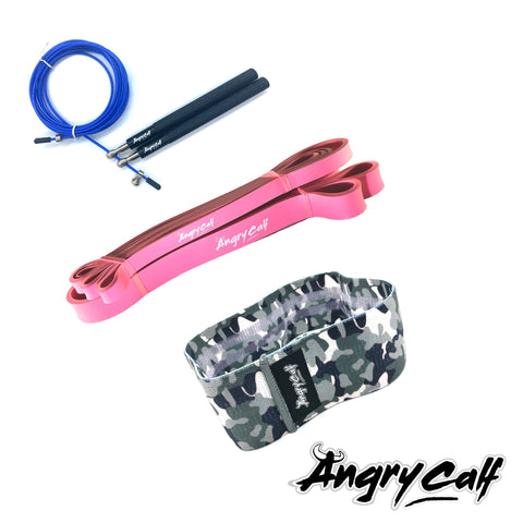 """Midnight Warrior"" - Angry Calf Mega Home Workout Value Pack - Angry Calf"