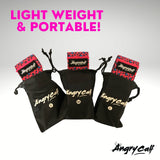 Grow the perfect booty with Angry Calf Back to Black Fabric Booty Bands for Booty Workouts Fitness Exercise Equipment Home Workout