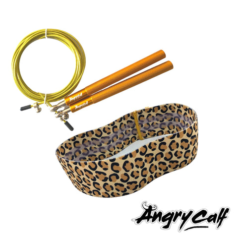 """Leopard Queen"" - Angry Calf Jump Rope & Booty Band Value Pack - Angry Calf"