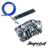 """Midnight Warrior"" - Angry Calf Jump Rope & Booty Band Value Pack - Angry Calf"