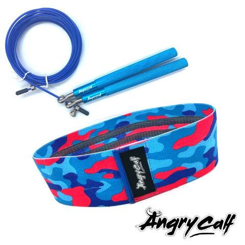 """Feeling Blue"" - Angry Calf Jump Rope & Booty Band Value Pack - Angry Calf"