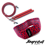 """Lady in Red"" - Angry Calf Jump Rope & Booty Band Value Pack - Angry Calf"