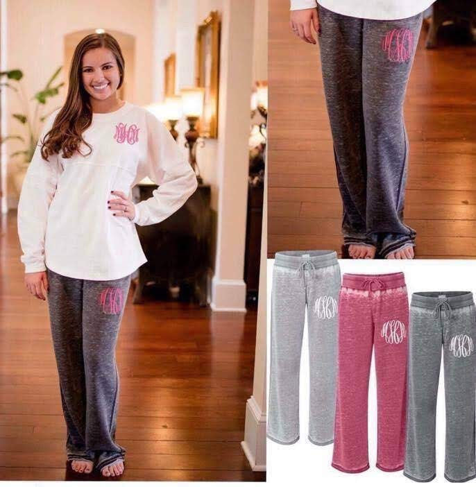 Cozy Color block distressed Women's Sweatpants