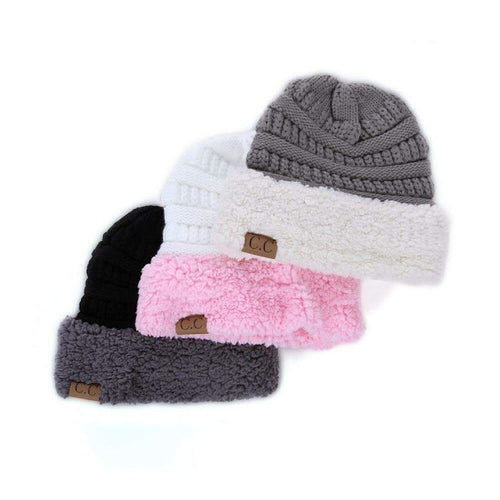 Adult Sherpa Beanies