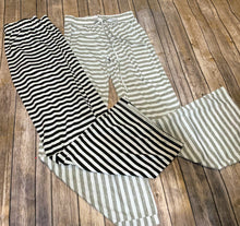Women's Striped Cozy Sweatpants