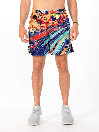 Mountain Marble Men's Shorts