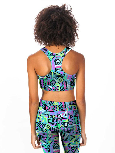 Prints Of Bel-Air Women's Sports Bra