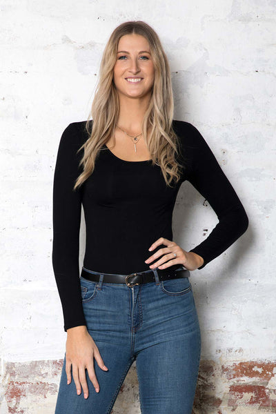 Betty Basic Stretch Top