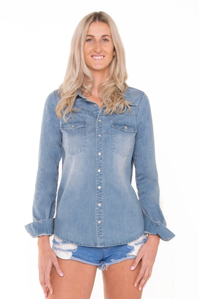 long-sleeve-denim-popper-front-denim-shirt
