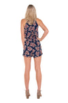 tall-tie-up-blue-floral-print-romper-playsuit-back-view-full-body