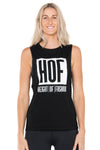Black-singlet-tshirt-with-HOF-logo