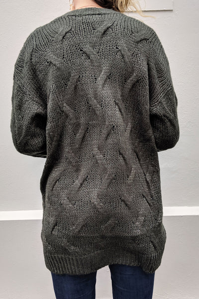 long-tall-lily-green-criss-cross-knit-back-view-cable-knit-warm-outwear-day-wear-long-sleeve