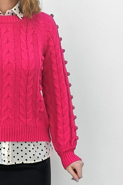 The Bright Pink Knit