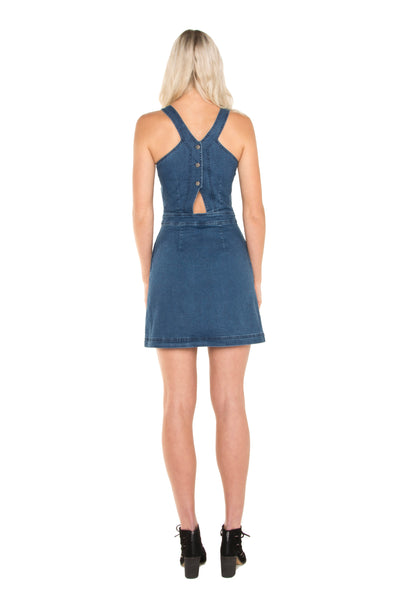 back-of-tall-denim-button-up-dress