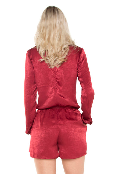 tall-Raspberry-Cross-Over-Long-Sleeve-Playsuit-back-view