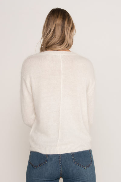 Soft cream jumper