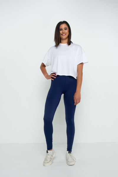 The Navy Power Leggings