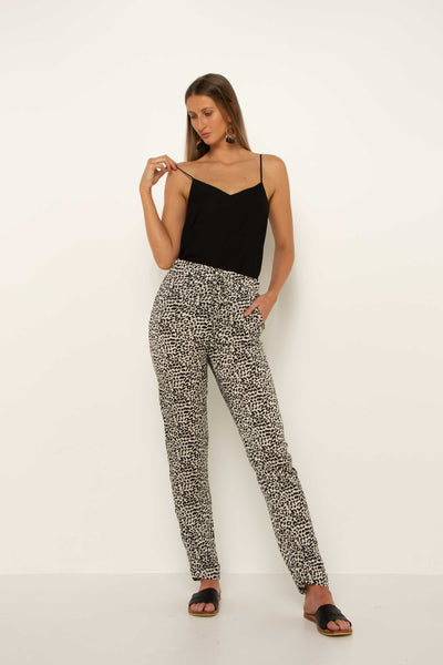 women's-long-tall-leopard-trousers-flattering-fit-tappered-cuff