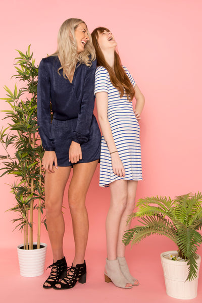 navy-cross-over-long-sleeve-playsuit-shoot-with-nautical-stripe-tshirt-dress