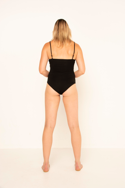 long-tall-fitted-black-bodysuit-flattering-high-cut-leg-adjustable-straps