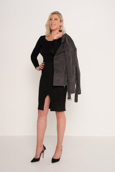 tall-midnight-husk-suede-jacket-charcol-faux-side-on-shoulder-street-style-evening-wear-outwear-sex-appeal