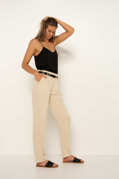 tall-cream-tapered-pant-work-trousers-hand-in-pocket