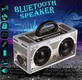 Bluetooth Wireless Classic Portable Retro Speaker, 20W