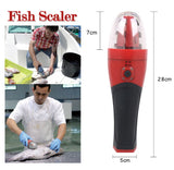 Premium Rechargeable Cordless Electric Fish Skin Scaler