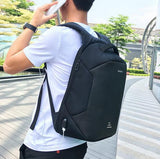 Waterproof Anti Theft Travel Backpack, USB Charging Port