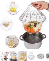 Mesh Cooking And Steamer Basket