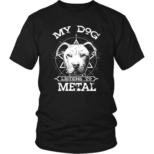 My Dog Listens To Metal
