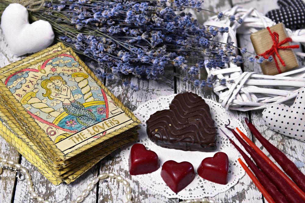 The High Love Cards of the Tarot
