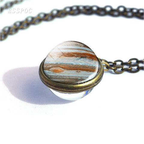 Planets of the Solar System Pendant Necklaces
