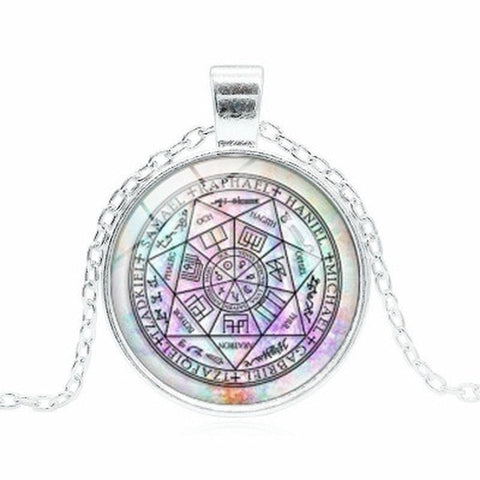 buy arch angel mystic  pendant online at Astrology by Melody