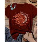 Live by the Sun and Love by the Moon T-Shirt