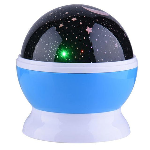 Rotating Cosmos Projector Lamp - Her Majesty's Goods
