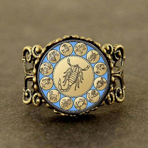Statement Scorpio Filigree Ring - Her Majesty's Goods