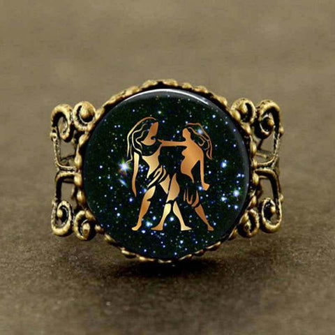 Statement Gemini Filigree Ring - Her Majesty's Goods