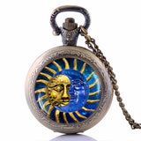 Sun & Moon Pendant Necklace - Her Majesty's Goods