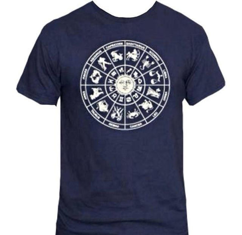 Zodiac Wheel T-Shirt - Her Majesty's Goods