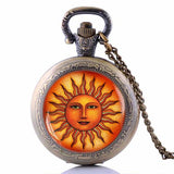 Sun Pendant Necklace - Her Majesty's Goods