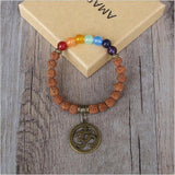 Rudraksha Magic Beaded Chakra Bracelet - Her Majesty's Goods