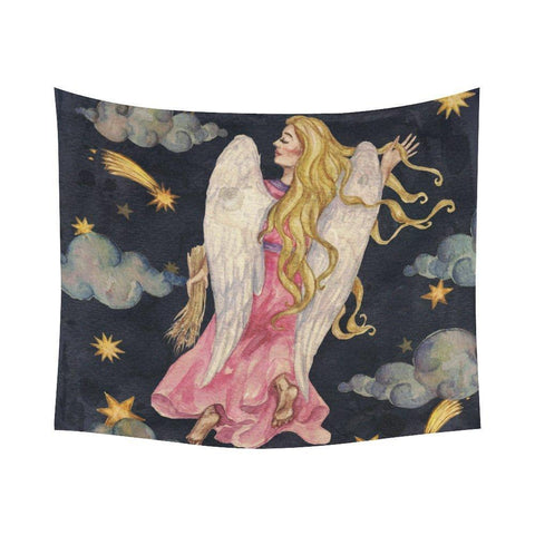 Virgo/Angel Tapestry/Wall Hanging - Her Majesty's Goods