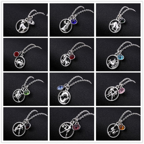 buy the best quality Zodiac Constellation Birthstone Necklaces online at Astrology by Melody