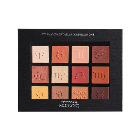 Zodiac 12 Constellations Eye Shadow Palette