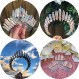 buy the best crystal goddess hair pins combs headbands online at Astrology by Melody