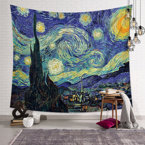 Starry Night Van Gough Tapestry